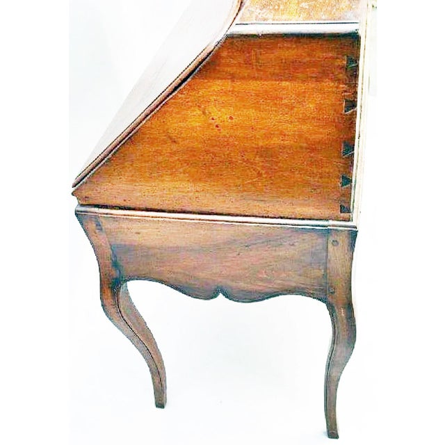 Gold Late 18th Century Italian Writing Desk For Sale - Image 8 of 12