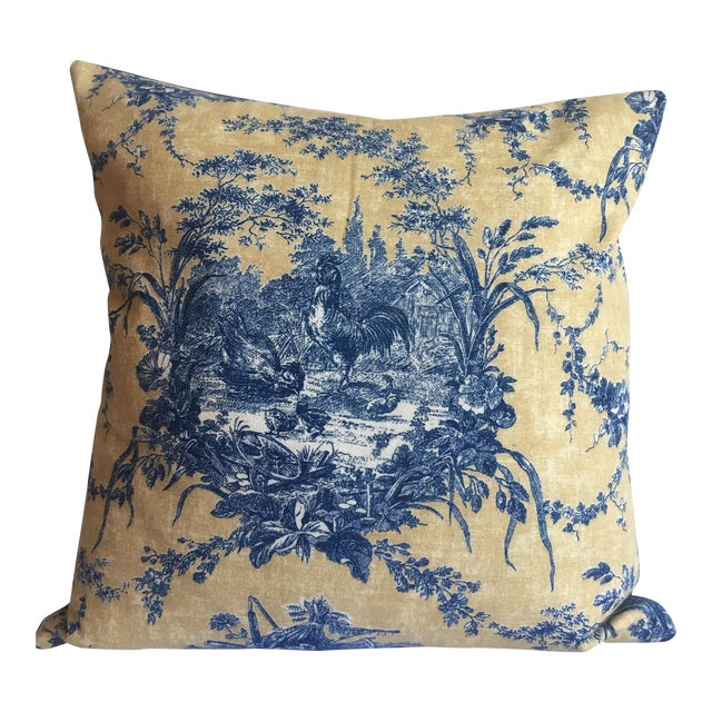French Hen Pillow - Image 1 of 5