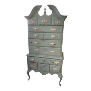 Vintage Queen Anne Highboy For Sale