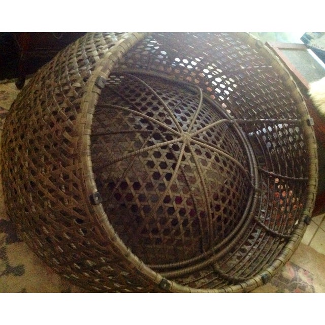Modernist Rattan Wire Chair - Image 11 of 11