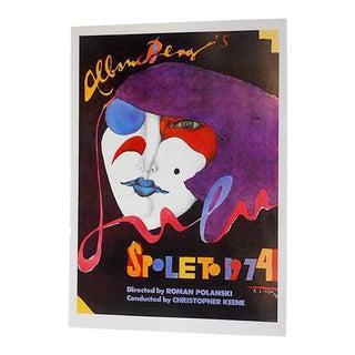 Vintage Poster Lithograph - Richard Lindner For Sale