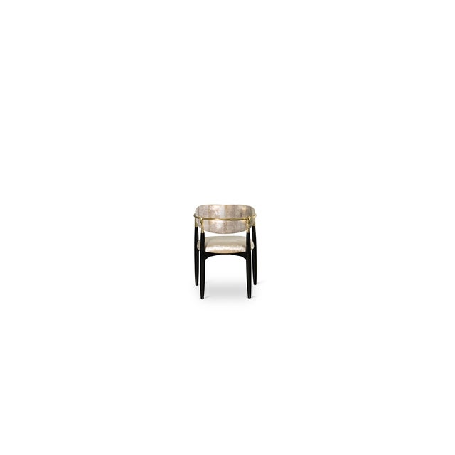 Not Yet Made - Made To Order Nahéma Chair From Covet Paris For Sale - Image 5 of 9