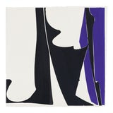 "Image of Joanne Freeman ""Covers 13 - Blue Black"", Painting For Sale"