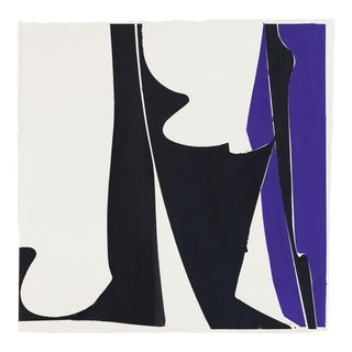"""Joanne Freeman """"Covers 13 - Blue Black"""", Painting For Sale"""