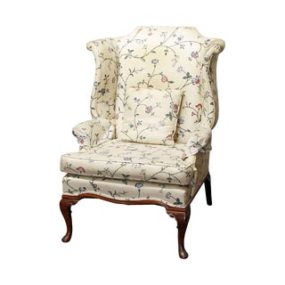 1970s Vintage Floral Patterned Chair For Sale