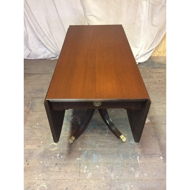 Antique Restored Drop Leaf Table - Image 4 of 10