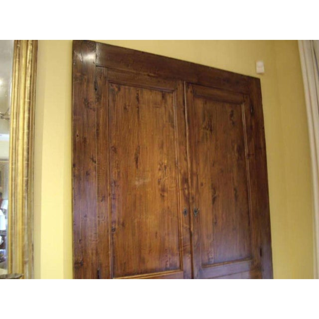 19th Century French Provincial Cabinet Front For Sale - Image 4 of 7