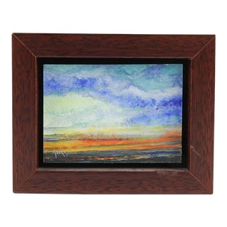 Tiny Landscape Oil Painting For Sale