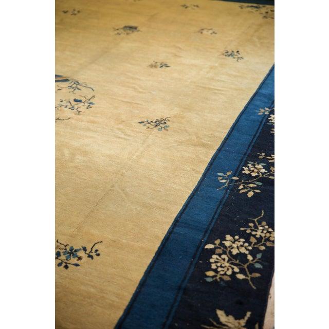"Blue Vintage Peking Carpet - 9'11"" X 17'4"" For Sale - Image 8 of 13"