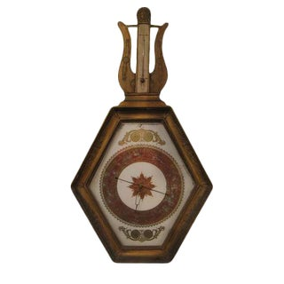 Antique Empire Period Barometer For Sale