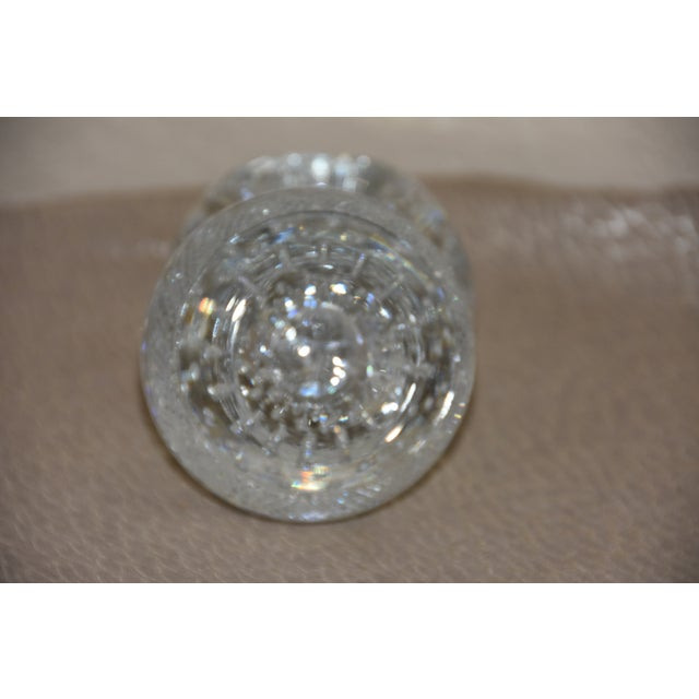 Mid-Century Crystal Match Holder With Striker Marked Webb For Sale - Image 11 of 12