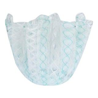 Fazzoletto Handkerchief Vase by Fulvio Bianconi & Paolo Venini for Venini Glass For Sale