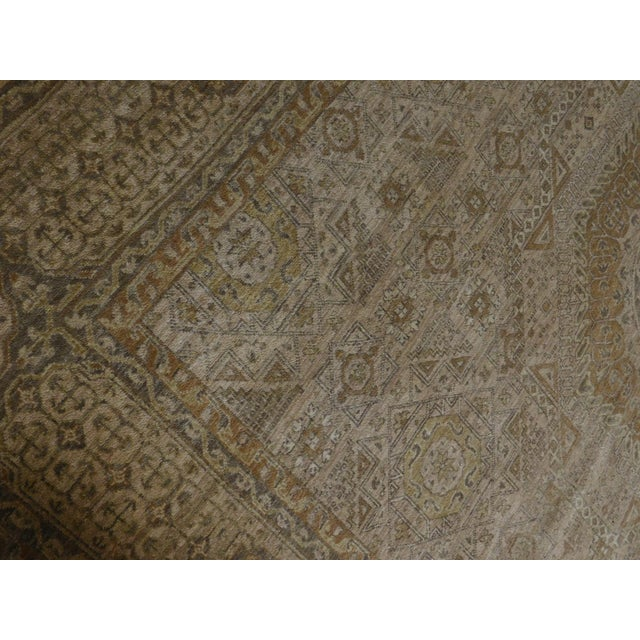 "Mamluk Hand-Knotted Luxury Rug - 7'10"" x 7'11"" For Sale - Image 4 of 10"