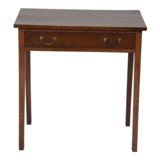 19th Century Georgian Mahogany Side Table For Sale