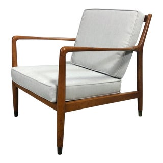 Folke Ohlsson Lounge Chair for Dux of Sweden For Sale
