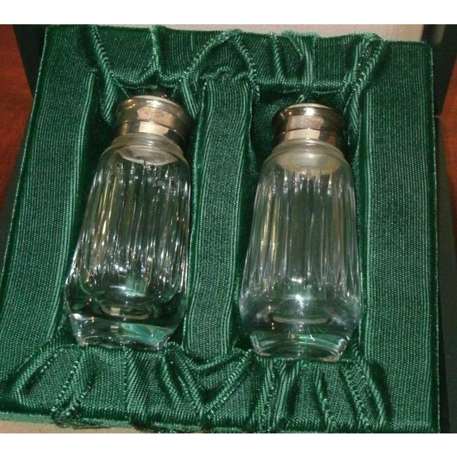 Transparent Gucci Salt & Pepper Shakers Set in Formal Presentation Box - a Pair For Sale - Image 8 of 12