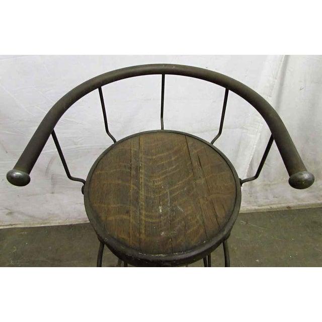 Unique High Iron Stool