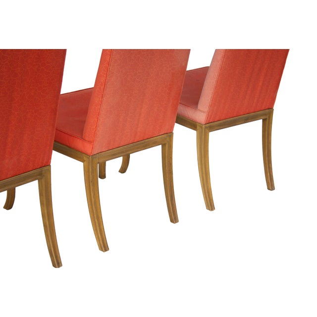 Dining Chairs by t.h. Robsjohn-Gibbings for Baker - Set of 4 For Sale - Image 10 of 11