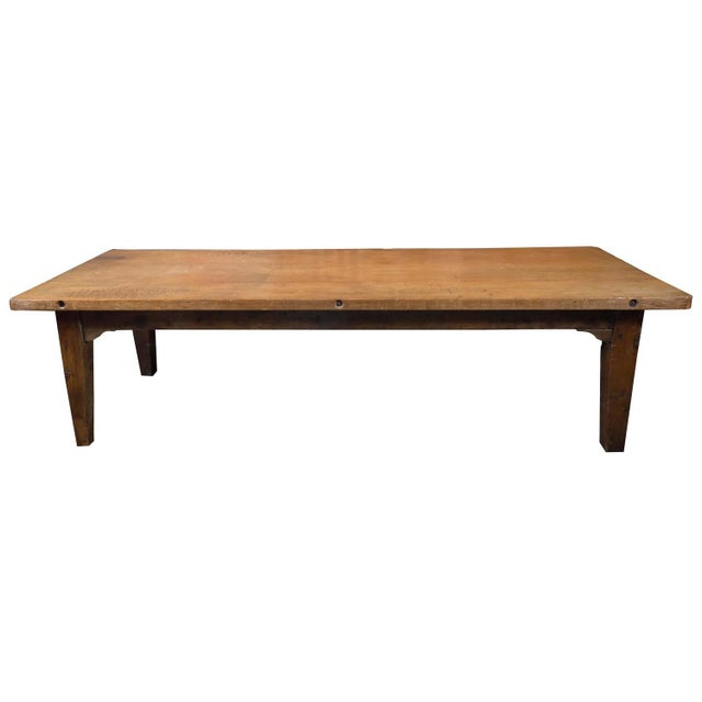 1840's English Farm House Table For Sale - Image 9 of 9