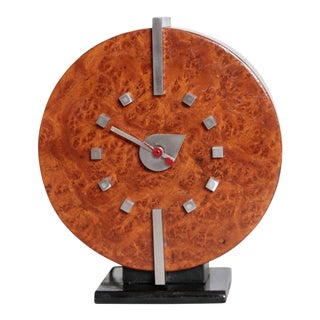 Machine Age Gilbert Rohde Herman Miller Century of Progress Clock, No. 4725B