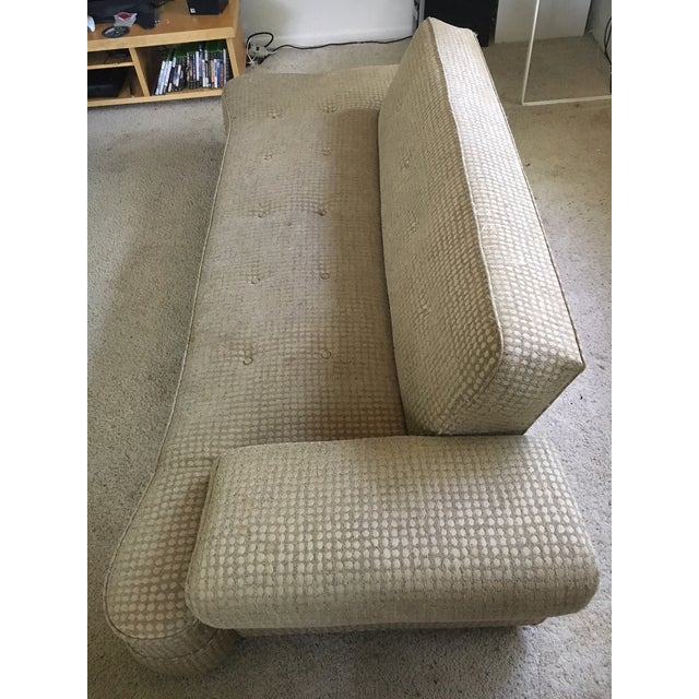 Mid-Century Modern 1950's Mid-Century Convertible Dog Bone Sofa-Final Markdown For Sale - Image 3 of 9