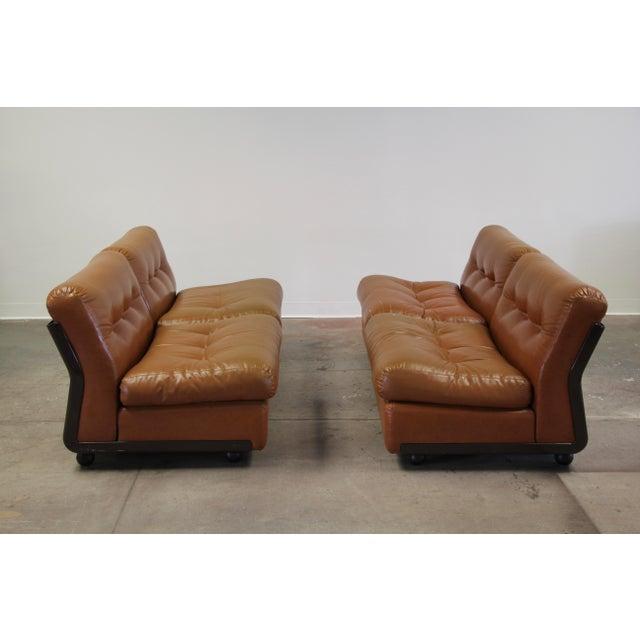 Mid-Century Modern 1970s Vintage Mario Bellini Amanta Modular Sofa For Sale - Image 3 of 13