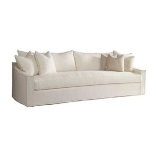 Verellen Duke 98'' Linen Sofa For Sale