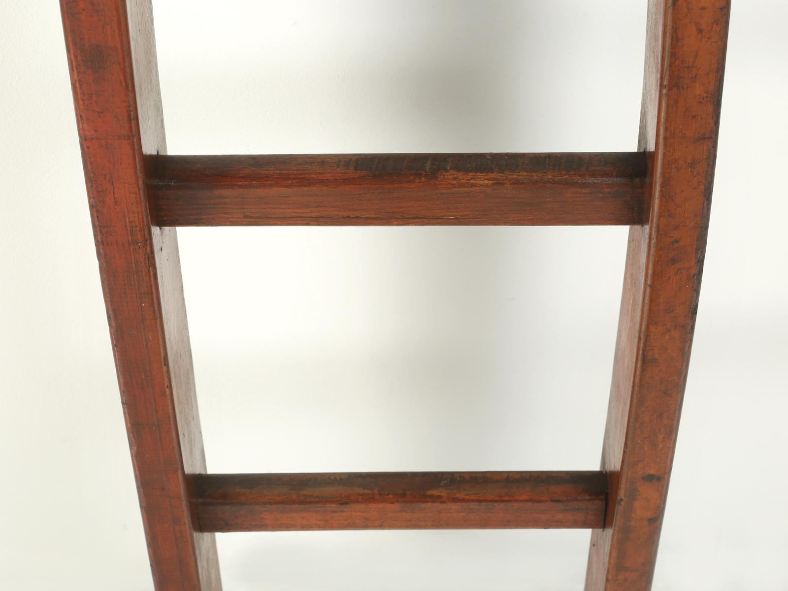 Antique Cherry Orchard French Ladder   Image 7 Of 9