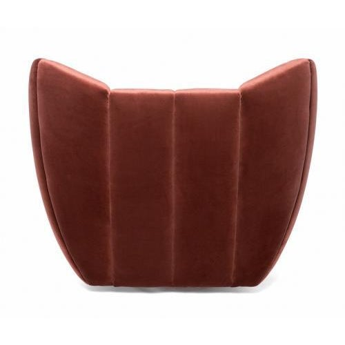 Contemporary Studio Van den Akker Goddard Swivel Club Chair For Sale - Image 3 of 4