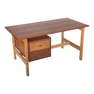 Danish Midcentury Hans Wegner Getama Writing Desk For Sale