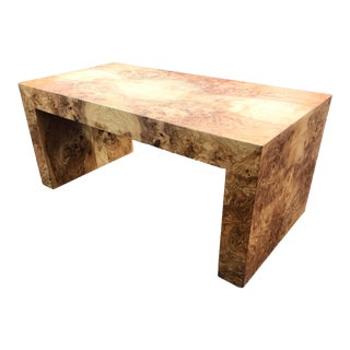 Paul Mayen Burl Wood Coffee Table