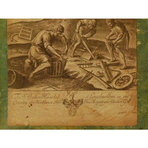 17th Century Wenceslaus Hollar Engraving For Sale - Image 5 of 6