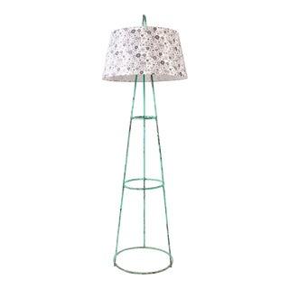 Green Tripod Floor Lamp For Sale