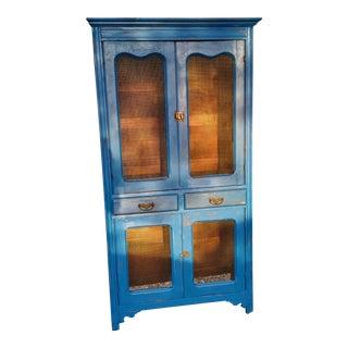 Vintage Blue Hutch