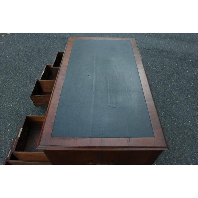 George III Mahogany Kneehole Desk - Image 11 of 11