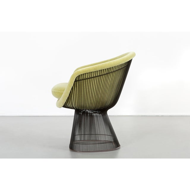 Knoll Set of Mid-Century Modern Bronze Platner Lounge Chairs for Knoll For Sale - Image 4 of 13