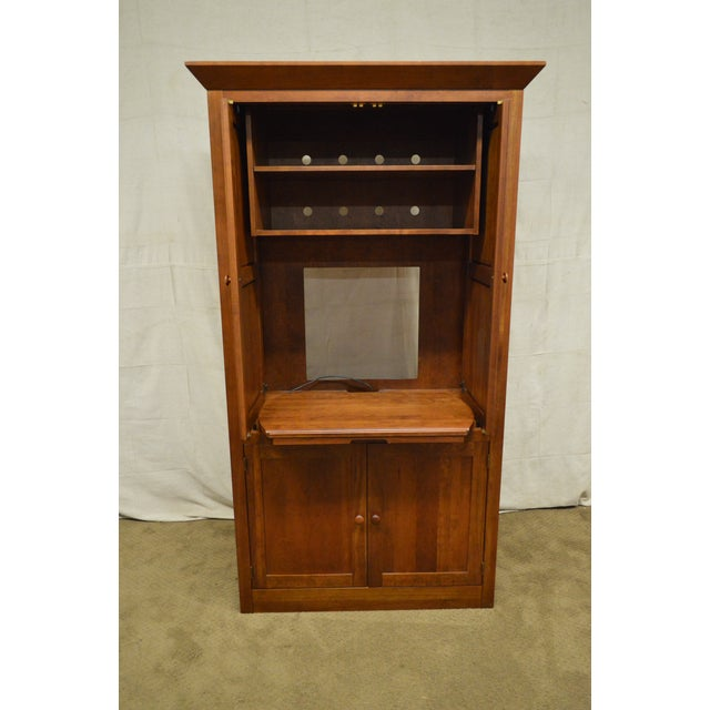 Ethan Allen American Impressions Solid Cherry TV Armoire ...