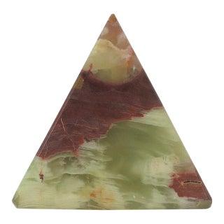 Onyx Pyramid For Sale