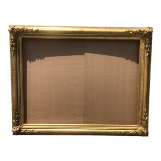 19th Century Gilt Wood Frame For Sale