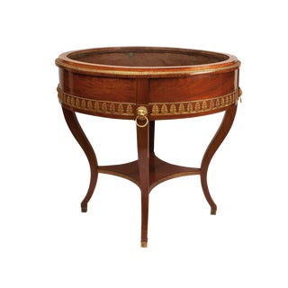 19th Century Russian Mahogany Wine Cooler Jardiniere For Sale