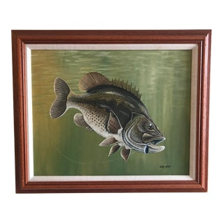 Largemouth Bass by Dick West For Sale