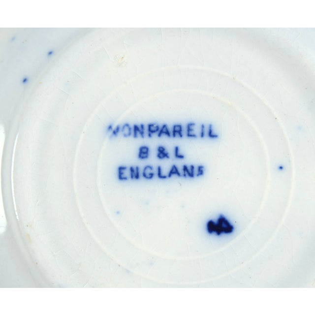 Burgess & Leigh Flow Blue Butter Pat - Set of 4 For Sale In Greensboro - Image 6 of 7