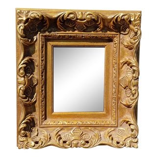 Vintage French Provincial Rococo Louis XVI Gold Ornate Picture Frame #4 For Sale