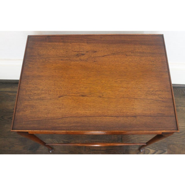 Brown 19th Century English Nesting Tables - Set of 3 For Sale - Image 8 of 13