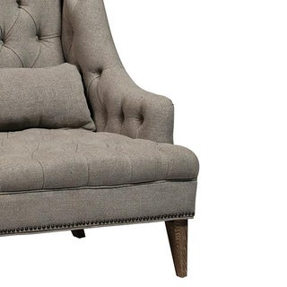 Tall Tufted Arm Chair Preview