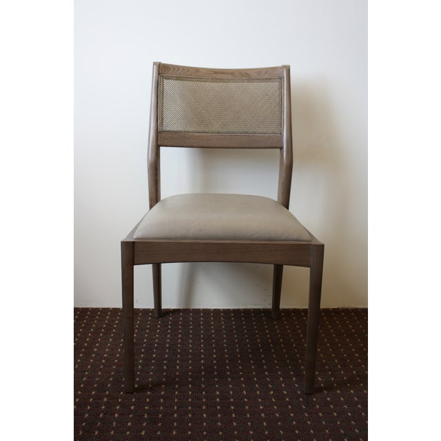 McGuire Fino Side Chair in Gray & Dove - Image 2 of 7