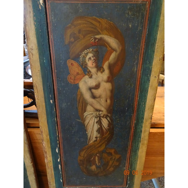 Italian 19th Century Italian Painted Wood Panels For Sale - Image 3 of 13