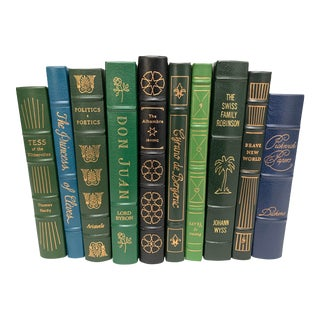 Easton Press Leather-Bound Classic Literature Book Collection - Set of 10 For Sale