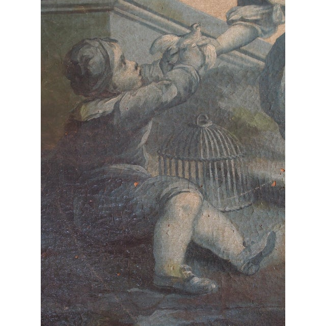 18th Century French Grisaille Painting - Image 4 of 8