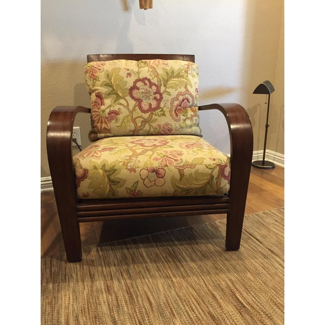 Rattan Ethan Allen Jamaica Arm Chairs - a Pair For Sale - Image 7 of 11